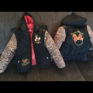 DisneyGirl's Jacket  Size 6-6x Minnie Mouse